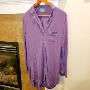 Victoria's Secret Super Soft Button Pajama Shirt